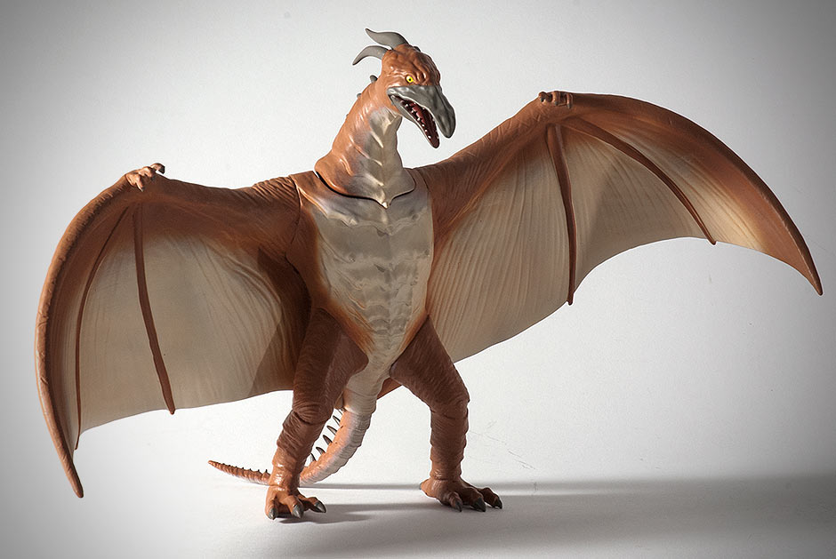 The Rodan 1993 Figural Vinyl Bank by Diamond Select Toys.