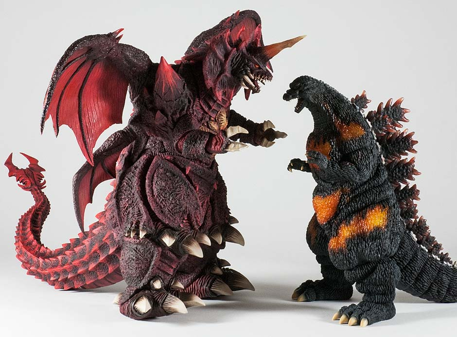 The X-Plus Godzilla 1995 and Destoroyah.