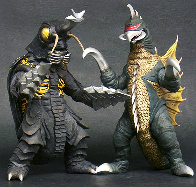 Toho Large Monster Series Megalon and Gigan Winter Festival Winter 2016 Commemorative Release.