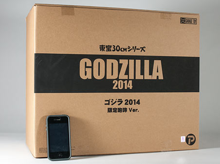 The X-Plus Godzilla 2014 Box.