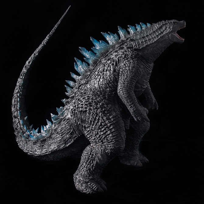 Toho 30cm Series Godzilla 2014 Roaring Pose Vinyl figure by X-Plus.