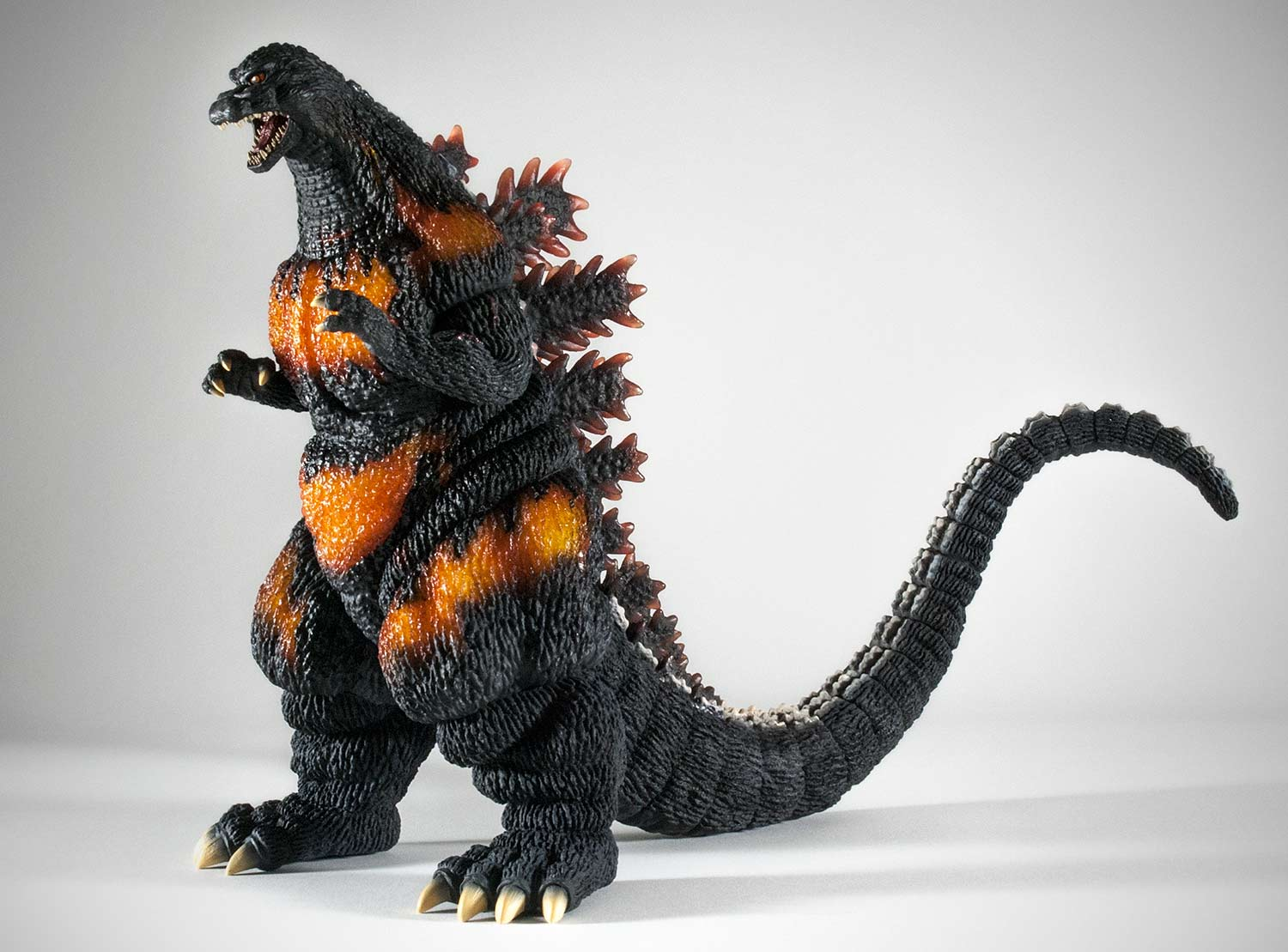 25cm Godzilla 1995 vinyl figure by X-Plus.