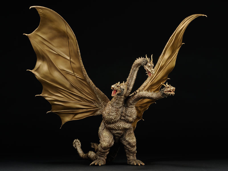 Large Monster Series King Ghidorah 1968 Bluefin Reissue.