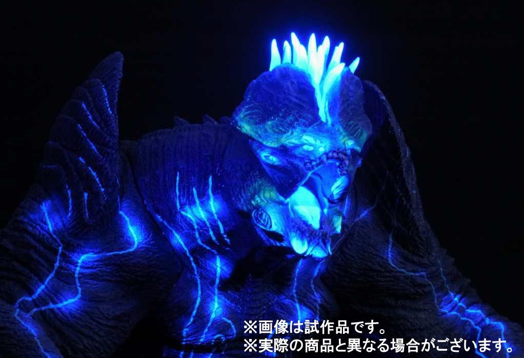 Large Monster Series Pacific Rim Leatherback Ric Boy in Black Light.