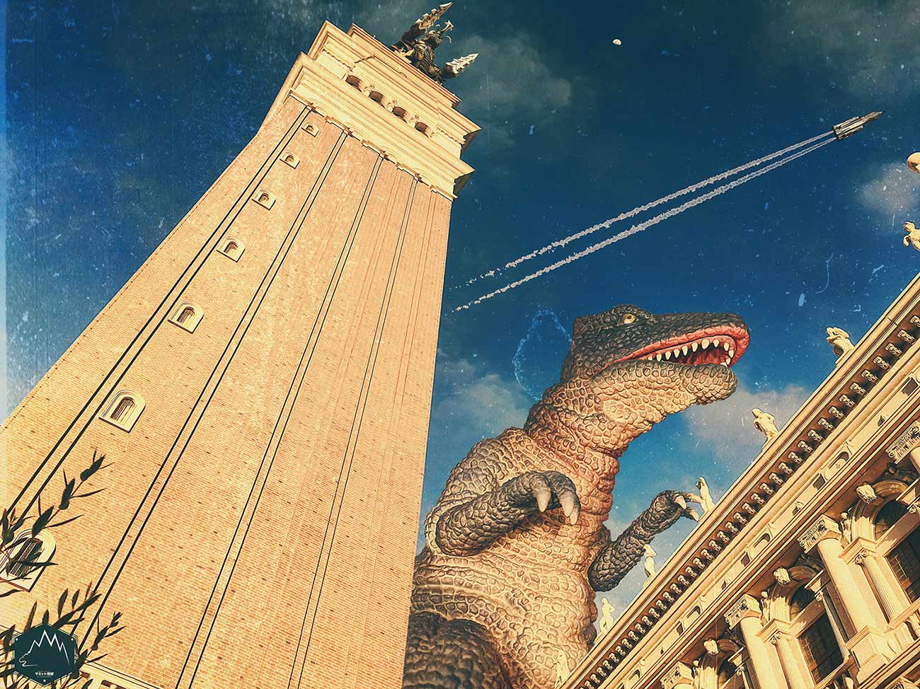 Composite featuring X-Plus Gorosaurus by Jeremy Soles. Copyright: Jeremy Soles.
