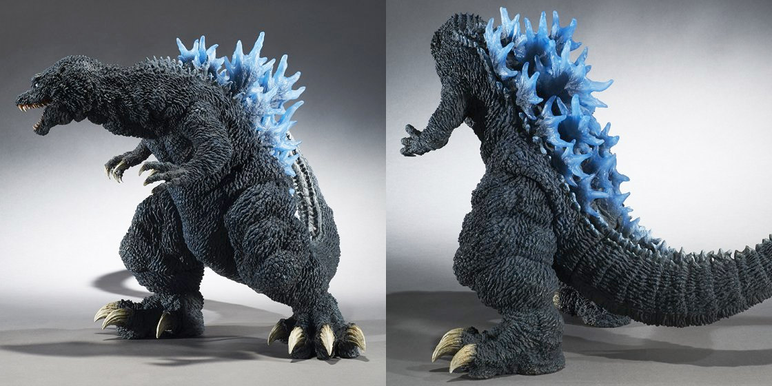 More angles of the Gigantic Series Godzilla 2001 Reissue.