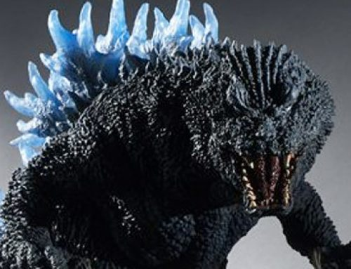 X-Plus Gigantic Series Godzilla 2001 (Blue Fins) gets Diamond Reissue