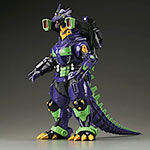 Toho 30cm Series Godzilla vs. Evangelion Kiryu 2002 in Unit 01 colors.