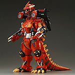Toho 30cm Series Godzilla vs. Evangelion Kiryu 2003 in Unit 02 colors.