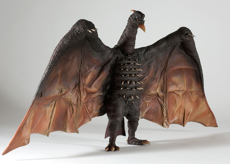 Another angled view of the X-Plus 12in Series Rodan 1964 / 1968.