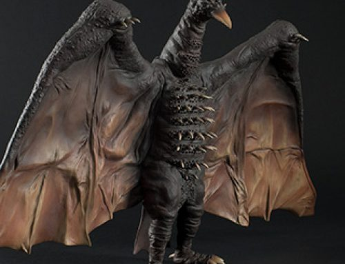 Full Review: Toho 30cm Series Rodan 1964 Vinyl Figure by X-Plus