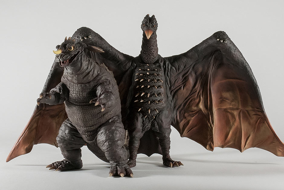 The 30cm Baragon is a useful figure to help Rodan keep standing.