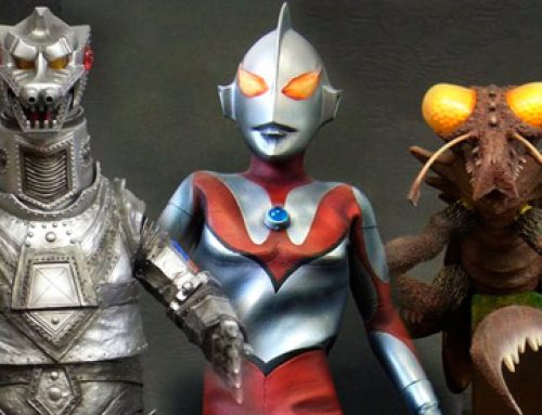 X-Plus June Announcements: 30cm Mechagodzilla 1975, Kamacuras and RMC Ultraman