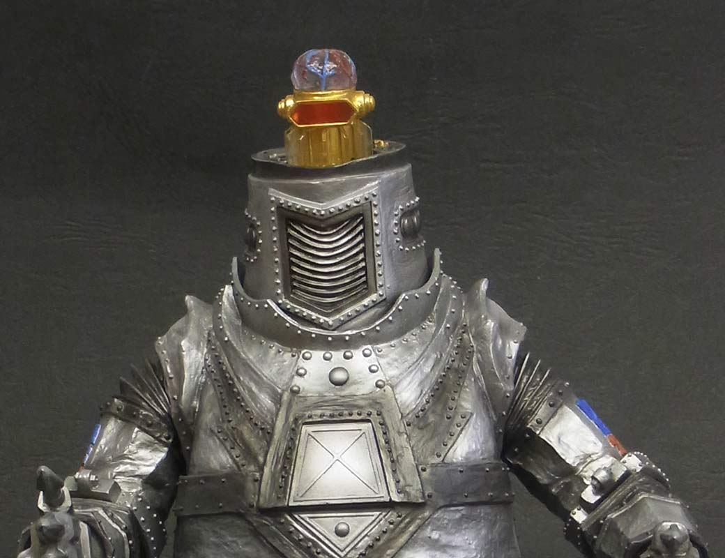 Close-up of Mechagodzilla's Electronic Brain.