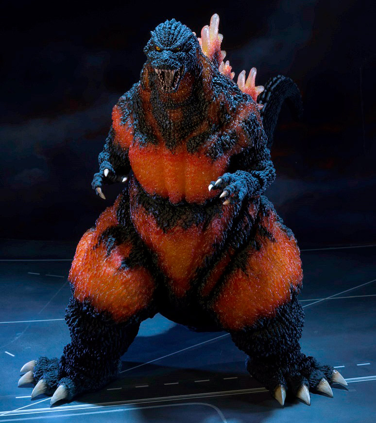 Bandai Gigantic Series Godzilla 1995 SDCC Exclusive vinyl figure from Bluefin.