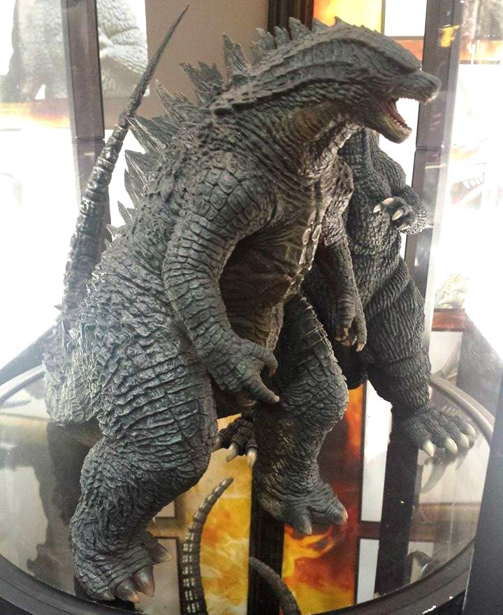 30cm Series Godzilla 2014 on display at SDCC.