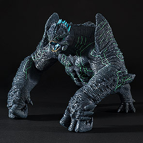 X-Plus Large Monster Series Pacific Rim Leatherback vinyl figure.