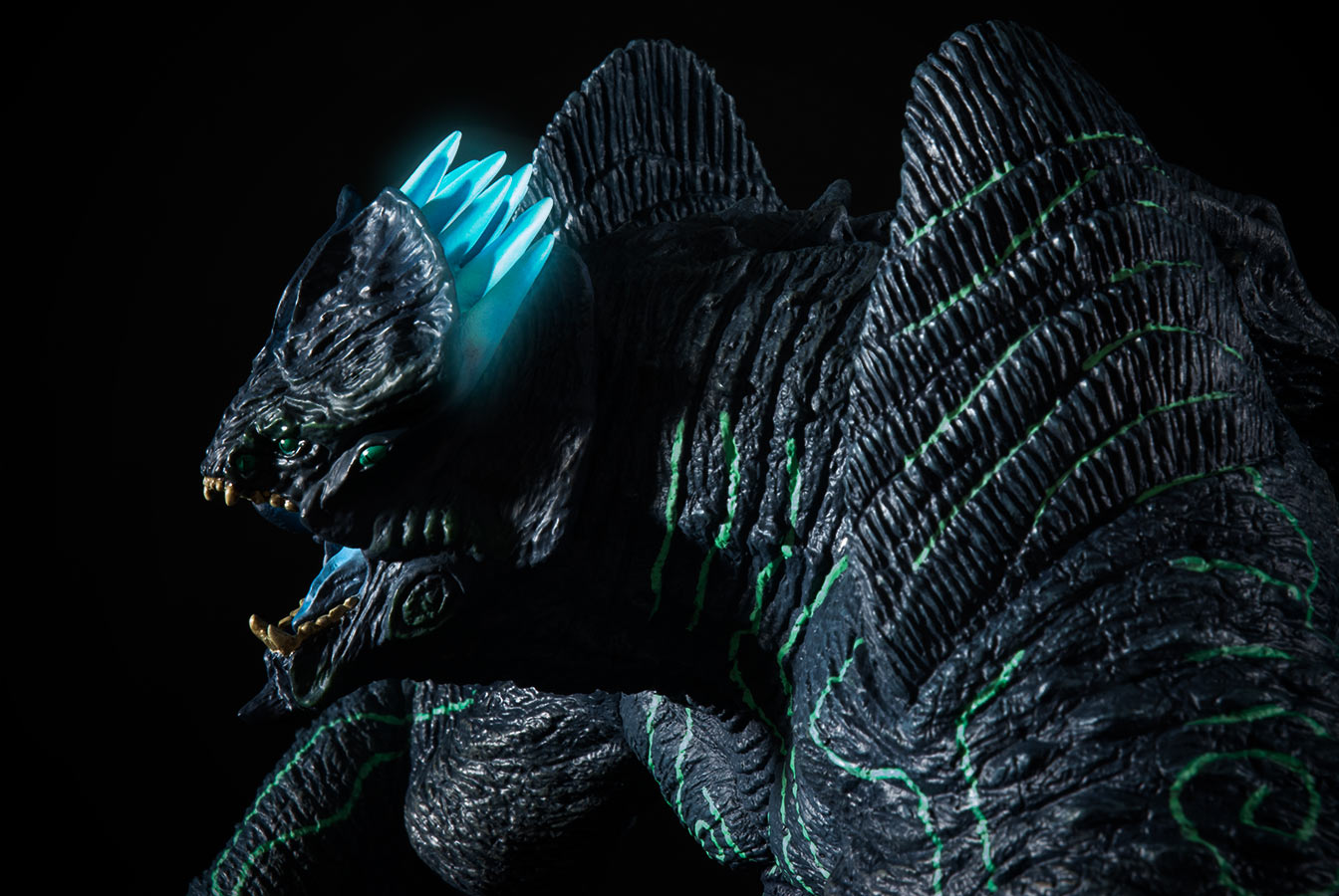 Photoshopped image of the X-Plus Large Monster Series Leatherback.