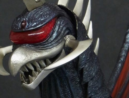 GodzillaFanFreaks Reviews the 30cm Series Gigan 2004 by X-Plus