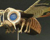 Large Monster Series Mothra imago 1964 vinyl figure by X-Plus.