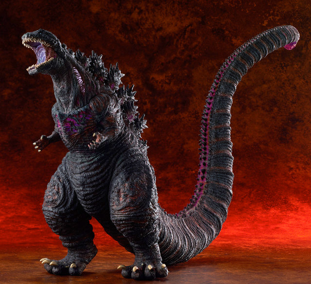 Toho Large Monster Series Shin Godzilla Ric Boy Exclusive version vinyl figure by X-Plus.