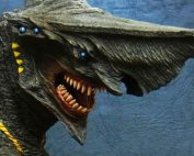 Large Monster Series Knifehead vinyl figure by X-Plus.