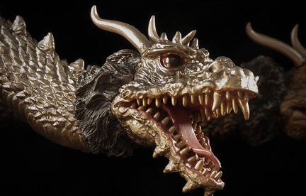 SuperGhidorah Reviews the Flying King Ghidorah 1968 by X-Plus