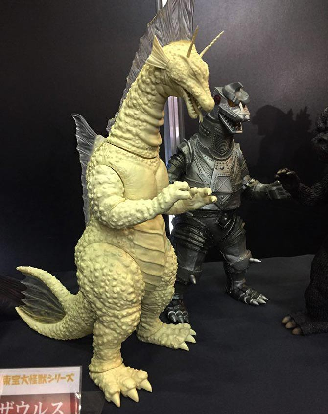 Toho Large Monster Series Titanosaurus vinyl figure by X-Plus.