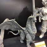 Toho Large Monster Series Kaiser Ghidorah vinyl figure by X-Plus.