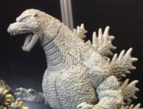 X-Plus Reveals 30cm Burning Godzilla, 25cm Titanosaurus and Kaiser Ghidorah