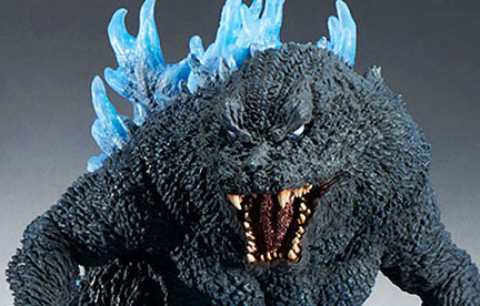 X-Plus Gigantic Series Godzilla 2001 Reissue Release Imminent