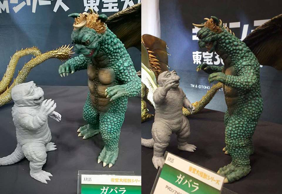 Large Monster Series Gabara and RIC exclusive: Minya on display at Wonder Festival.