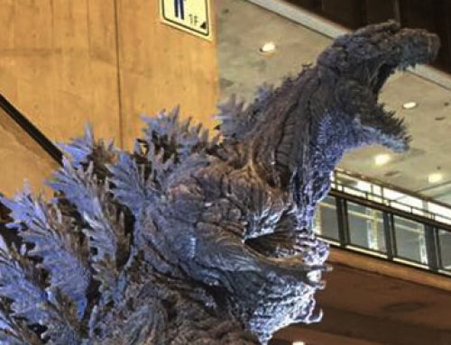 Creative Photo Contest will award a Gigantic Series Shin Godzilla by X-Plus