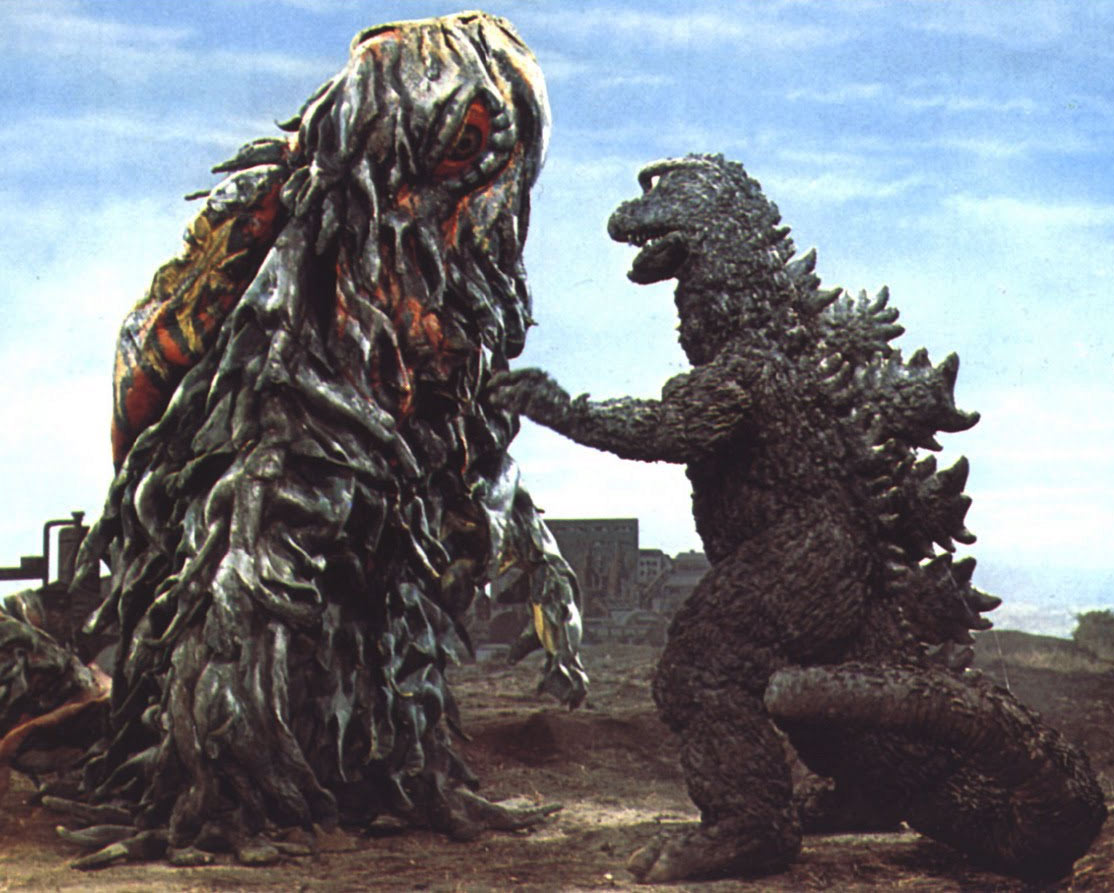 A scene from Godzilla vs. Hedorah, Toho 1971.