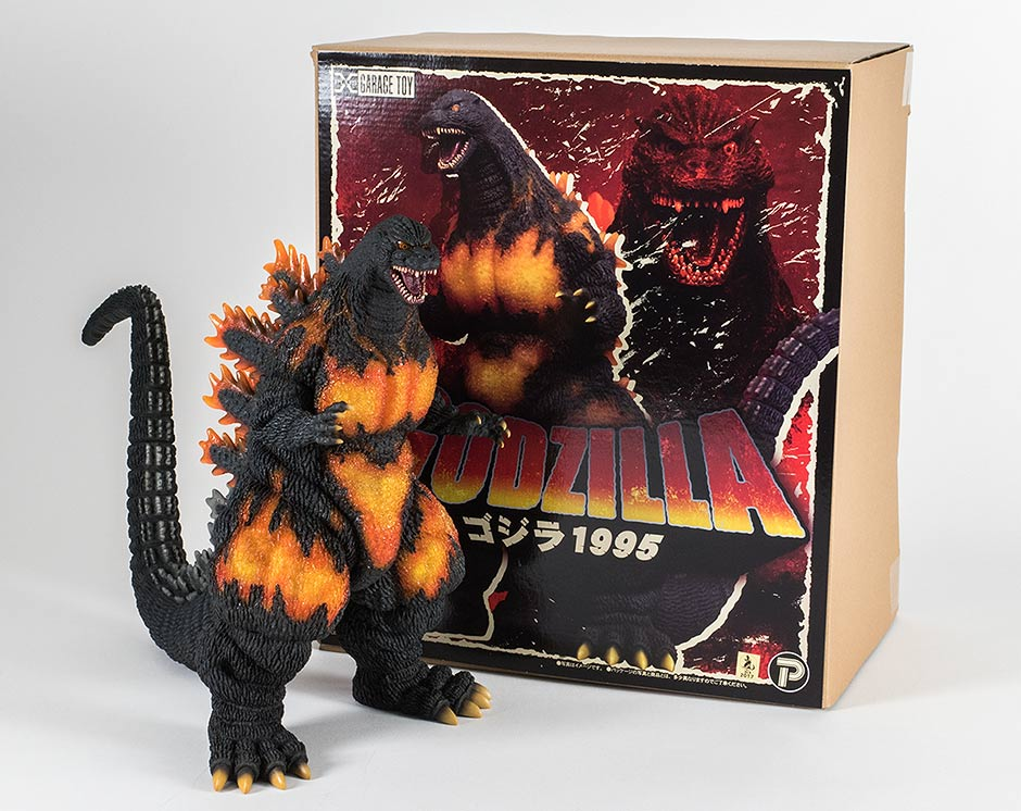 30cm Series Godzilla 1995 vinyl with box.