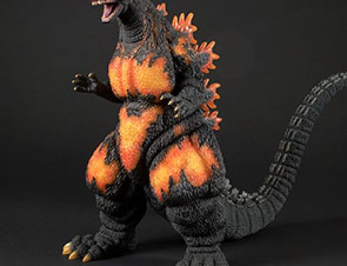 Full Review: Toho 30cm Series Godzilla 1995 vinyl figure by X-Plus