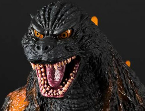 Diego Doom Reviews the 30cm Series Godzilla 1995 by X-Plus