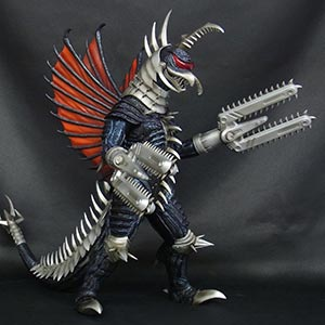 X-Plus Toho 30cm Series Mecha Gigan 2004 vinyl figure.