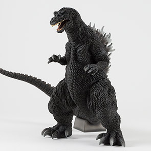Full Review: Toho 30cm Series Yuji Sakai Modeling Collection Godzilla 2001 vinyl figure by X-Plus