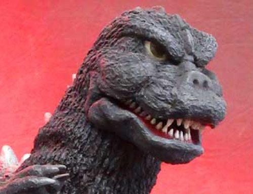 Industrial Blue Reviews the X-Plus 30cm Series Godzilla 1975