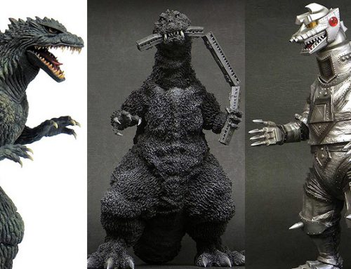 X-Plus Diamond Update: Godzilla 2000 Ver. 2, Godzilla 1954 Train Biter, Mechagodzilla 1975