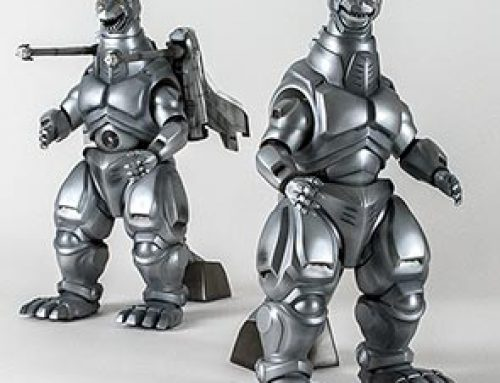 Full Review: Toho 30cm Series Mechagodzilla and Super Mechagodzilla 1993 by X-Plus