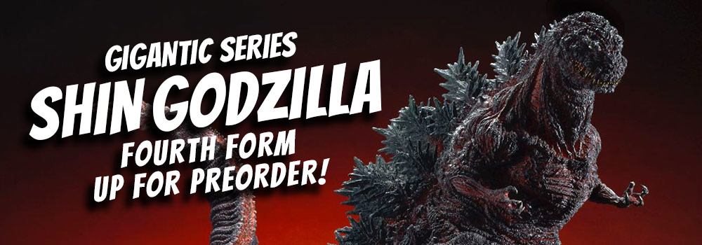 X-Plus Gigantic Series Shin Godzilla now open or orders.