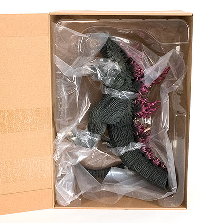 X-Plus 30cm Series Godzilla 2000 Ver. 2 vinyl figure inside packaging.