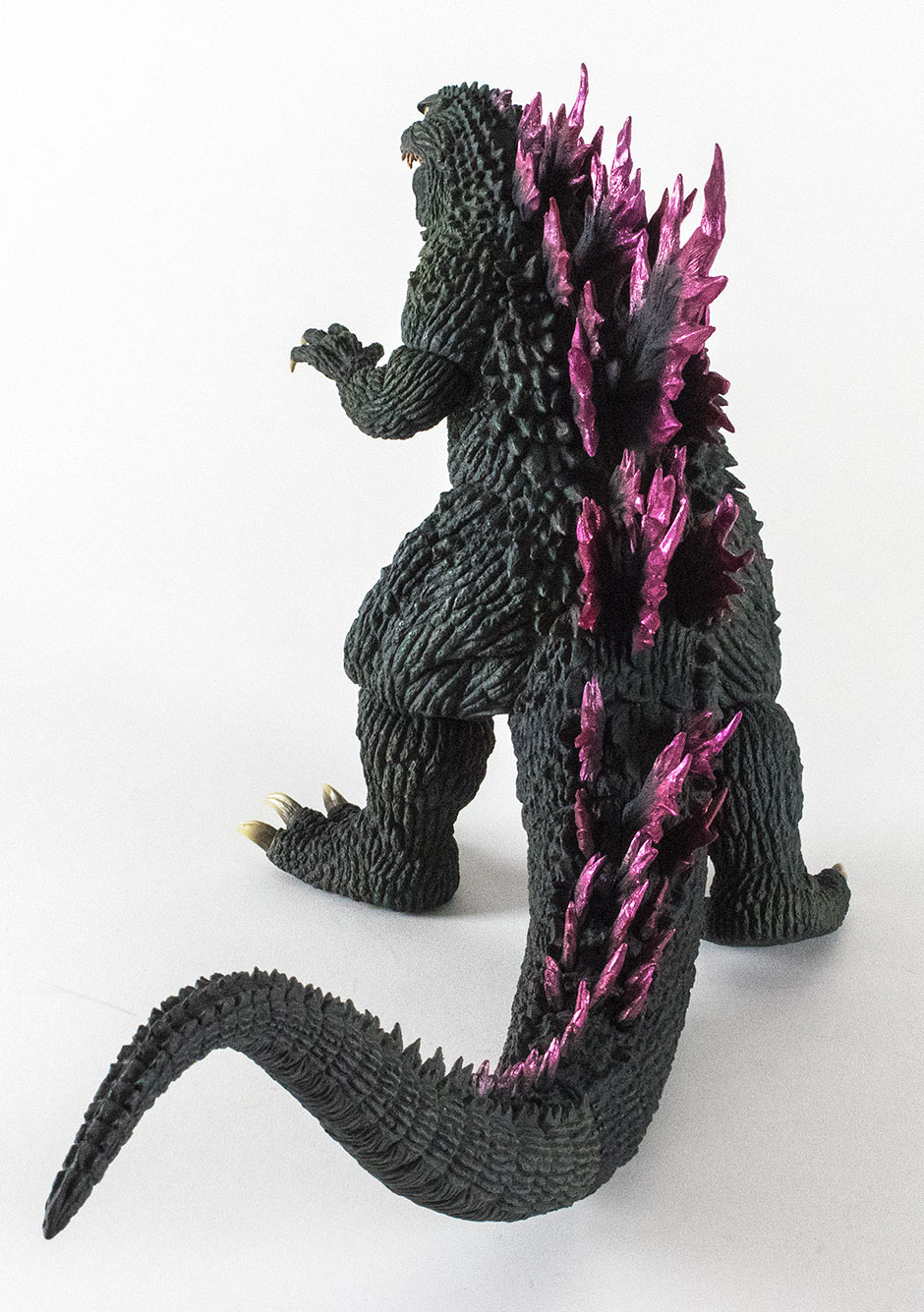 X-Plus 12in Series Godzilla 1999 Ver. 2 vinyl figure - rear view extra.