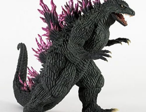 Full Review: X-Plus 12in Series Godzilla 1999 (2000) Version 2 (Diamond) Previews Exclusive vinyl figure