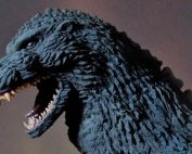 X-Plus Toho 30cm Series Yuji Sakai Modeling Collection Godzilla 1991 Shinjuku Version vinyl figure.