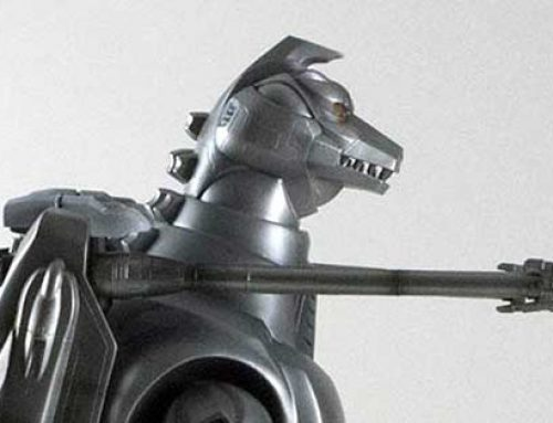 Gojira851 Reviews the 30cm Series SuperMechagodzilla RIC vinyl figure by X-Plus