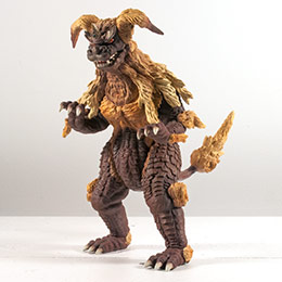 Toho Large Monster Series King Caesar vinyl figure by X-Plus.