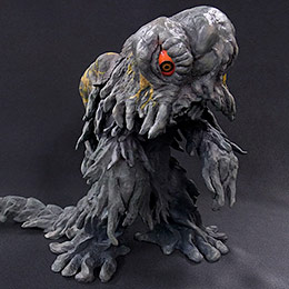 Toho Large Monster Series Hedorah Landing Stage version vinyl figure by X-Plus.